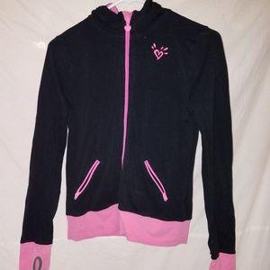 Justice size 12 zip up hoodie